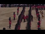Watch Queen watches as 5 guardsman collapse at Trooping of the Colour 2017