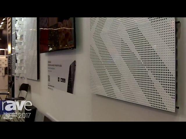 ISE 2017: Artnovion Shows Merida Customizable Acoustic Tile