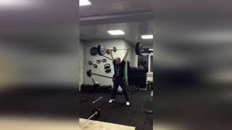 Супер Швунг от Жернакова Романа. Тяжелая Атлетика. Weightlifting.