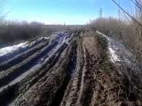 Дорога в посёлке Речной, Саратовской области