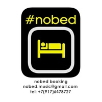 Логотип Концертное Агентство NO BED nobed booking