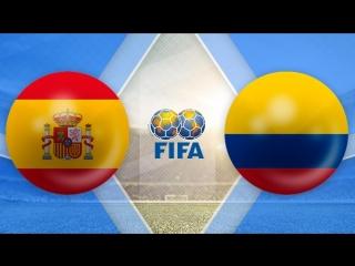 Испания 2:2 Колумбия | Товарищеские матчи 2017 | Обзор матча