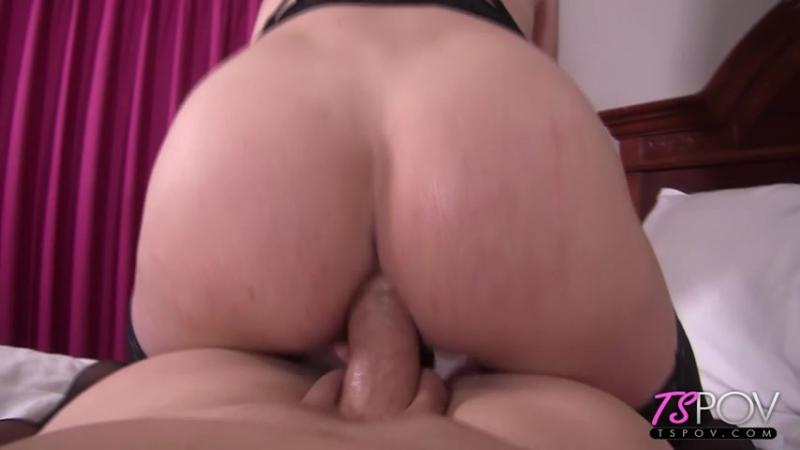 TSPOV Nikki Vicious Gorgeous blonde TS takes the cock deep