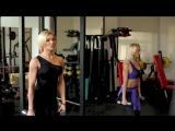 Ольга Путрова (Россия) и Оксана Яшанькина (Россия) - красивые фитнес-бикини модели. Тренировка с комментариями. Рекомендую!