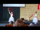 Танец. Самые большие члены домашки прославляют Господа