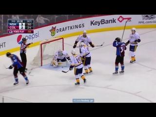 Колорадо - Нэшвилл 2-3. 14.01.2017. Обзор матча НХЛ