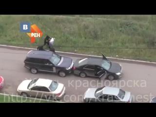 Вооруженное похищение человека в Красноярске