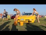 Эротическая мойка автомобиля. Минск