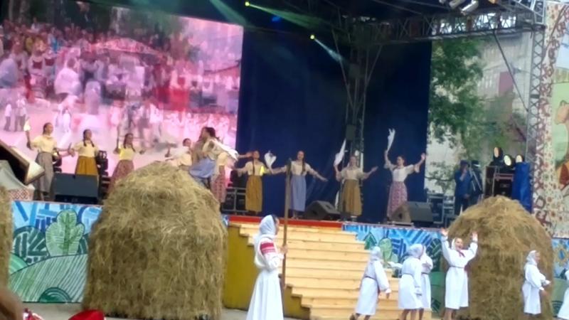 Игрища на сенокосе Завалинка 2017