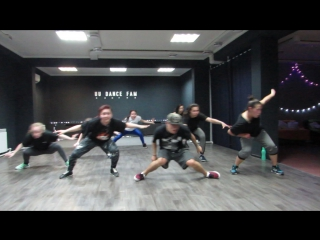 my first Dancehall choreo