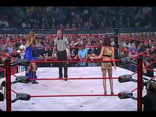 [#My1] (-****) Jenna Morasca vs. Sharmell (TNA Victory Road 2009)