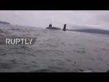 Russia-_Fishermen_can't_stop_swearing_as_a_nuclear_sub_appears_alongside_them