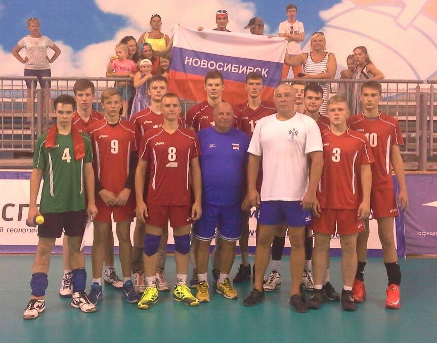 игры по волейболу среди юношей в рамках VIII летней Спартакиады учащихся России 2017, г. Анапа