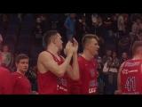 Полина Гагарина «Кукушка» на матче ЦСКА