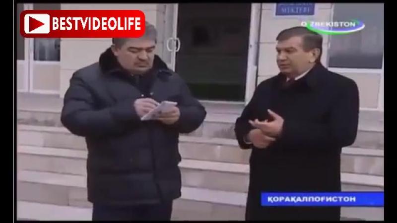 Встреча Президента Шавкат Мирзиёева Каракалпакстане 2017