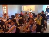Разминка на Международной Олимпиаде по ментальной Арифметике в лагере Robooky и Abakus