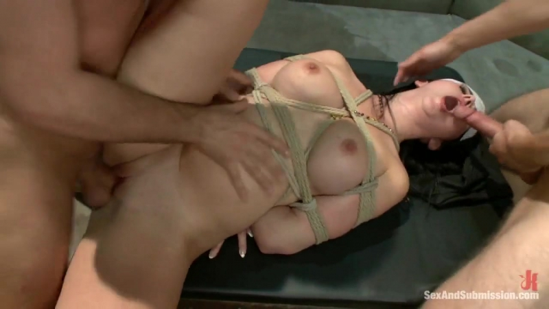 Danny Wylde, James Deen, Angell Summers - Nun Fucked and Dominated in Bondage by Priests [2012]