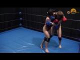 Vlada vs Rada. MMA-Style Fight. Demo Clip