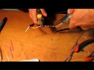 Учимся делать скрутки проводов. Соединения в распредкоробках