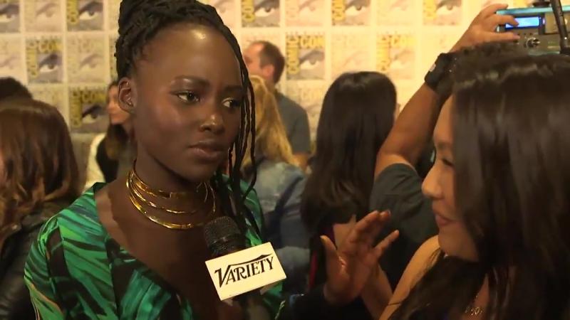 Black Panther': Lupita Nyong'o on Comic-Con