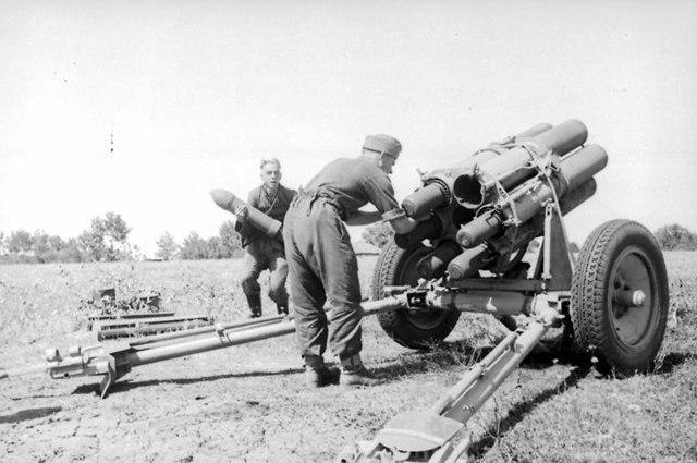 Небельверфер - немецкая реактивная установка