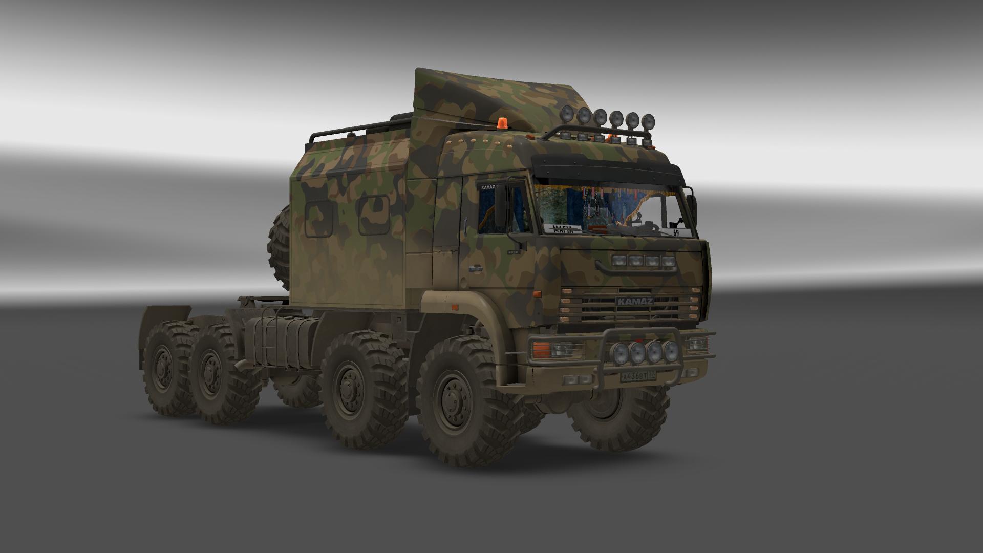 Пак из 5 брутальных грузовиков для Euro Truck Simulator 2 - Скриншот 1