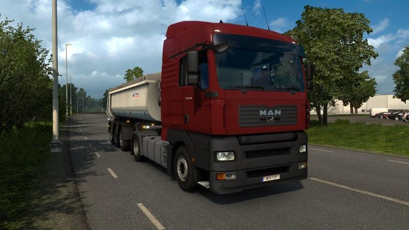 Пак из 5 брутальных грузовиков для Euro Truck Simulator 2 - Скриншот 3
