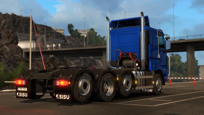 Пак из 5 брутальных грузовиков для Euro Truck Simulator 2 - Скриншот 2
