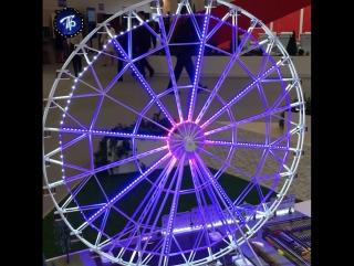 Первый день ПМЭФ-2017: Очереди, гигантское колесо, дом престарелых и остальные итоги форума