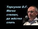 Торсунов О.Г. Мягко стелют, да жёстко спать