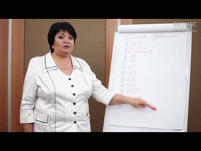 Закон геометрической прогрессии или 1 1 в МЛМ