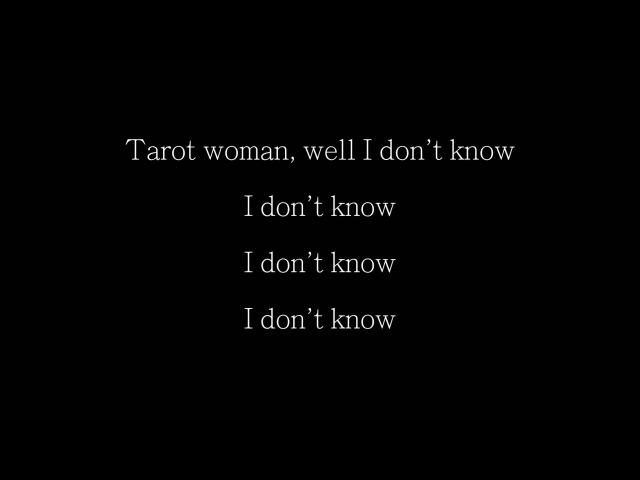 Rainbow - Tarot Woman (With Lyrics) HD