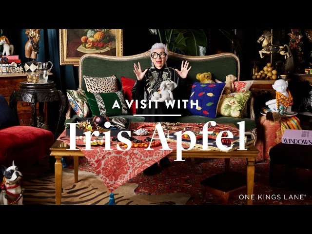 A Visit With Iris Apfel