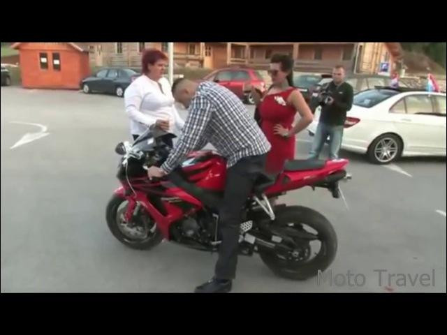 СМОТРЕТЬ ВСЕМ Идиоту подарили мотоцикл
