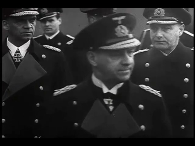 Гросс-адмирал Редер посещает «Адмирал Шеер», 1941 / Gross-Admiral Raeder Visits Admiral Scheer, 1941