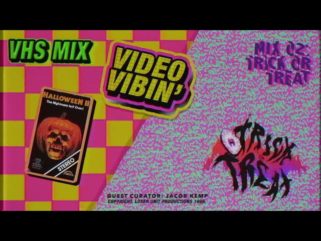 VIDEO VIBIN VHS MIX 02 TRICK OR TREAT