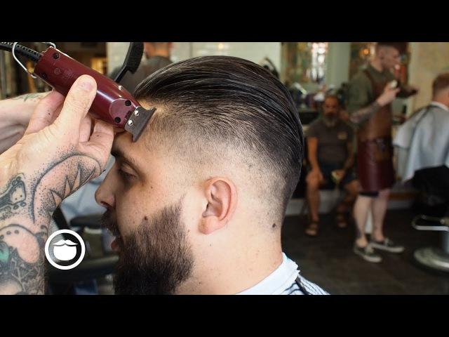 Skin Fade Maintenance and Beard Trim at the Barbershop