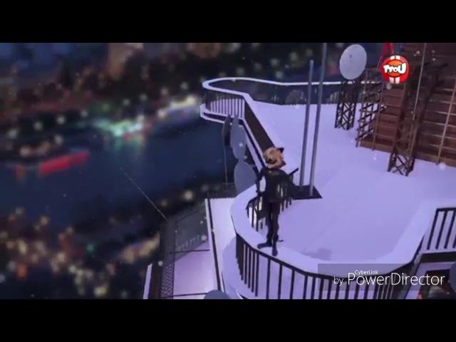 Ледибаг и супер кот Рождественский эпизод-песня Кота Нуара для Злого Санты
