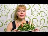 Крабовый салат рождественский венок на праздничный стол