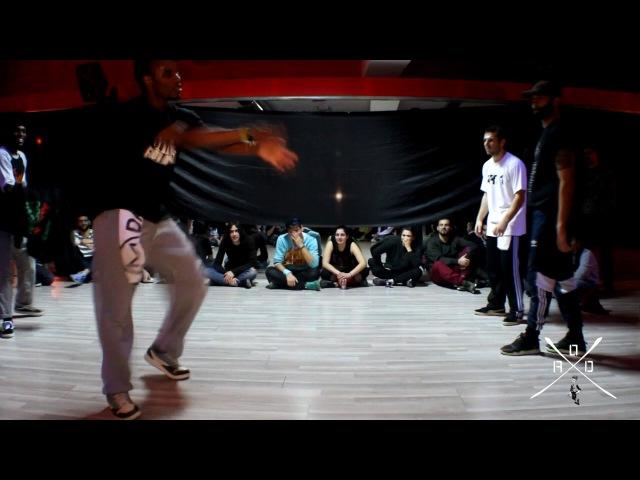 The Intensive Hip Hop Weekend | Exhibition Battle Franky Dee - Niako vs Sitzi - Virtuozo | AOD