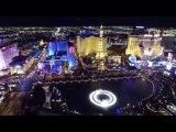 DJI Inspire 1 Las Vegas Strip Bellagio Fountains and Caesars Palace Flight 3242015