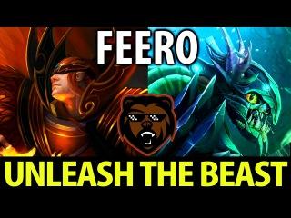 Feero [Invoker] [Slark] Dota2 B)ears vs C9- Unleash the Beast