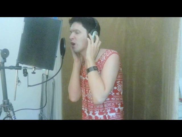 Парень поет голосом Софии Ротару в студии!