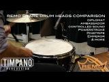 ULTIMATE Remo Snare Drum Heads Comparison - Timpano Percussion
