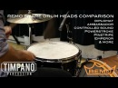 ULTIMATE Remo Snare Drum Heads Comparison Timpano Percussion