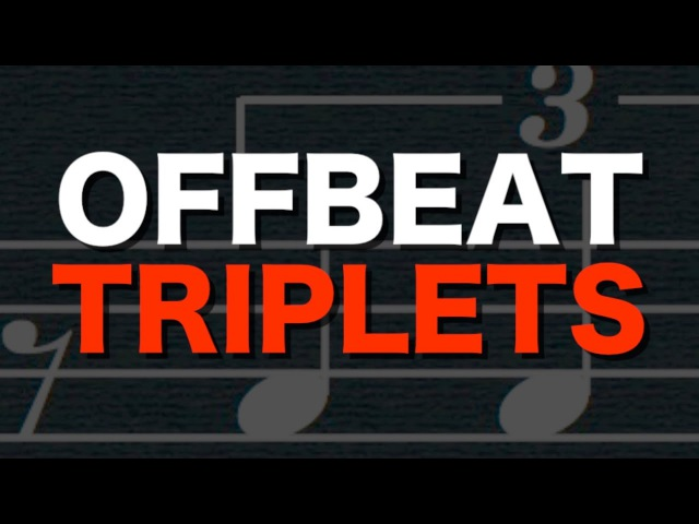 Offbeat Triplets (the un-performable rhythm)
