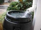 США. Бочка для дождевой воды по-американски.
