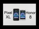 Google Pixel XL vs Huawei Honor 8 - Speed/Battery/Multitasking/Benchmark/Heat Test!