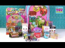 Shopkins Surprise Backpack Opening My Little Pony Squinkies Toy Review | PSToyReviews