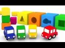 Dessin animé en français pour enfants de 4 voitures l'aire de jeux